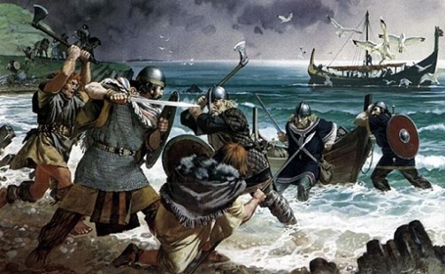 Francia cede ante los vikingos