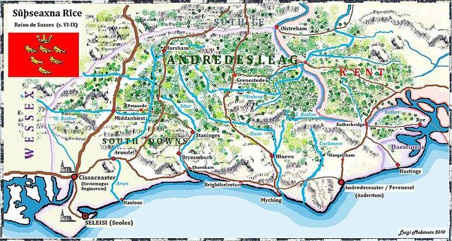 Sussex, último reino pagano anglosajón, se convierte al cristianismo.