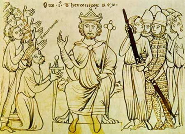 Nacimiento del Sacro imperio Romano Gemanico