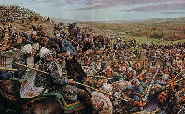 Guillermo el conquistador se apodera de Inglaterra