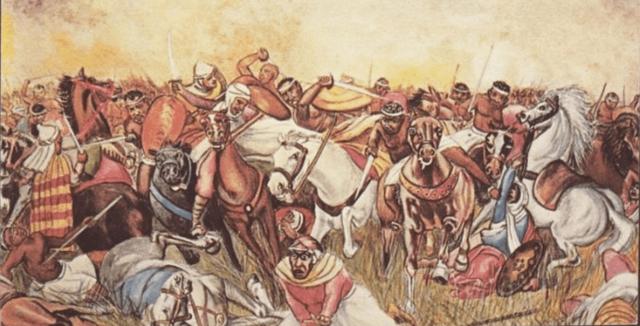Invasión de Egipto por los musulmanes.