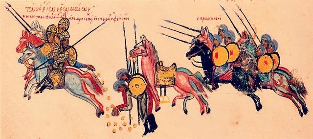 Los árabes inician la conquista del norte de África, expulsando de ahí a los bizantinos.