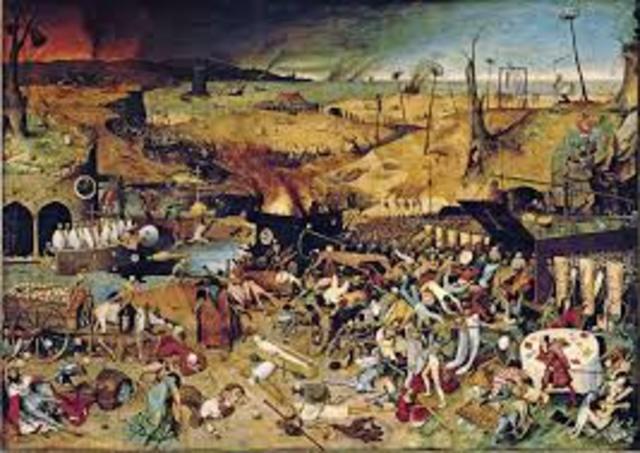 La peste negra asola Europa