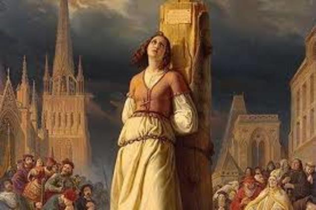 Muerte de Juana de Arco