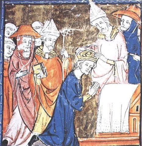 Carlomagno es coronado emperador de Occidente.