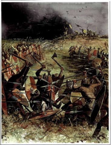Los normandos son derrotados en Montpensier.