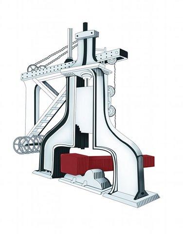 Steam Hammer Invented