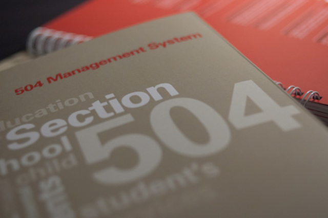 Section 504 of Rehabilitation Act