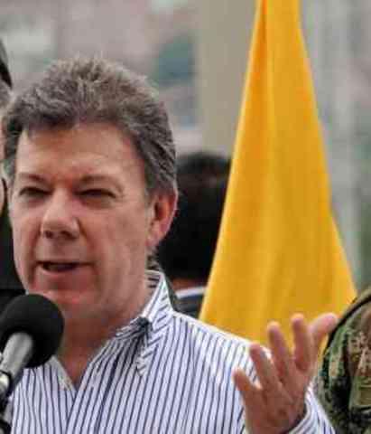 En Nueva York, Santos afirmó que baja de 'Jojoy' es como haber capturado a Osama bin Laden