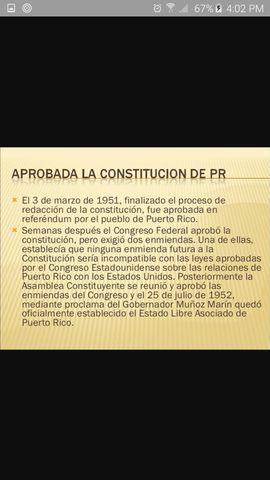 Constitucion de Puerto Rico