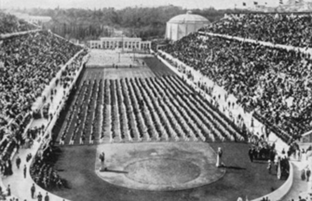 1st modern Olympic Games