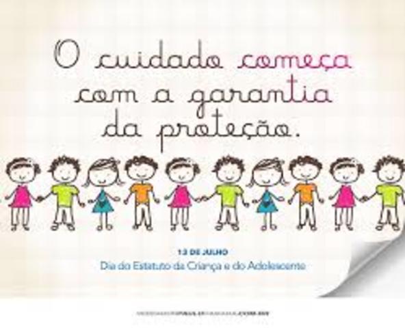 Criação do Estatuto da Criança e do Adolescente (ECA)