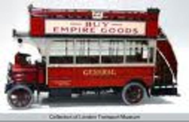 1st British bus service opens