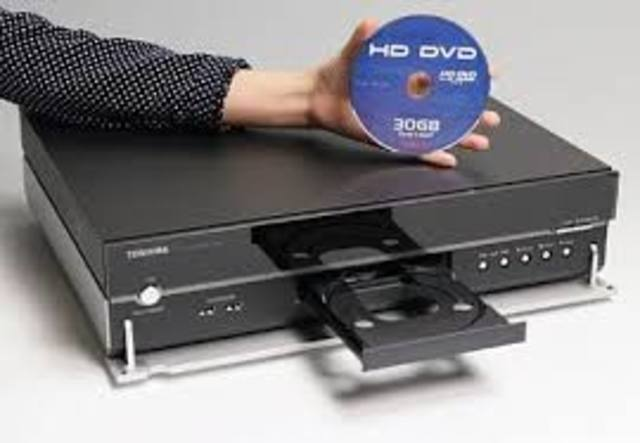 APARICION DEL DVD
