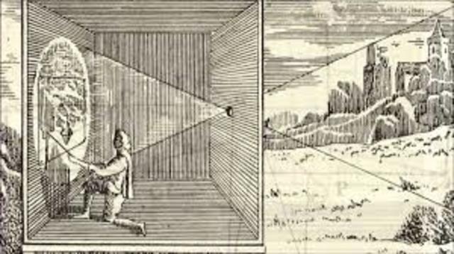 principio de la cámara 300 A.C.