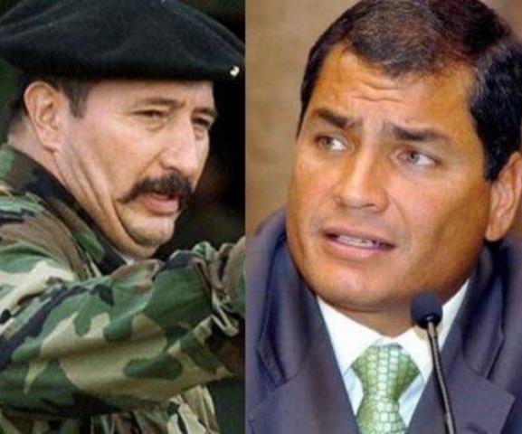 Narcos pidieron a 'Jojoy' negar aportes a presidente de Ecuador, dijo ex funcionario de ese país