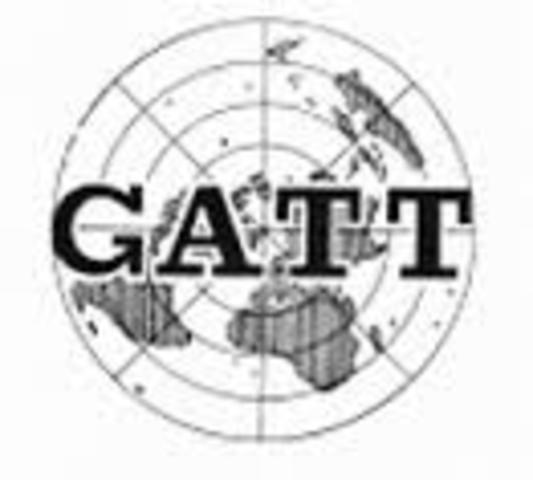 Ronda  de Ginebra , Acuerdo General sobre Aranceles Aduaneros y Comercio (GATT)