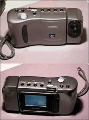 primer cámara con pantalla incorporada