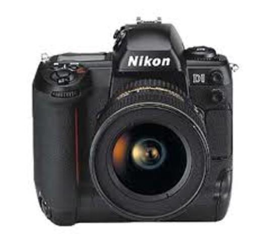 cámara con sensor digital