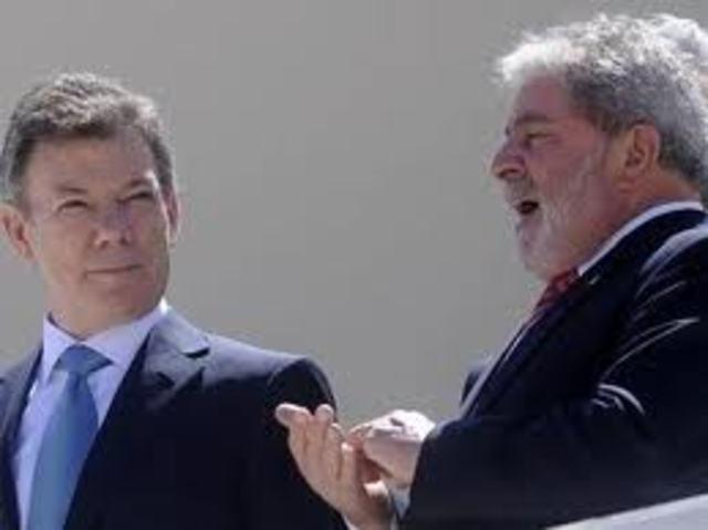 OCHO ACUERDOS DE COOPERACION POLITICA FIRMARON PERSIDENTES DE BRASIL Y COLOMBIA.