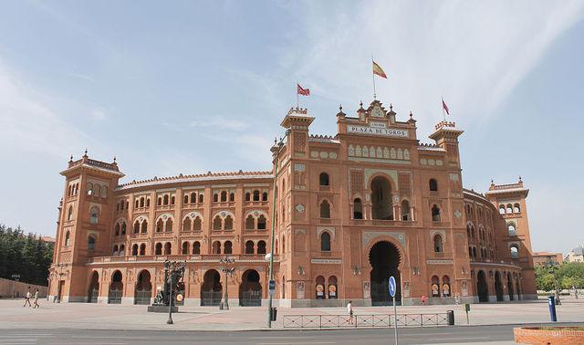 Era moderna del ladrillo (Plaza de Toros de Las Ventas)