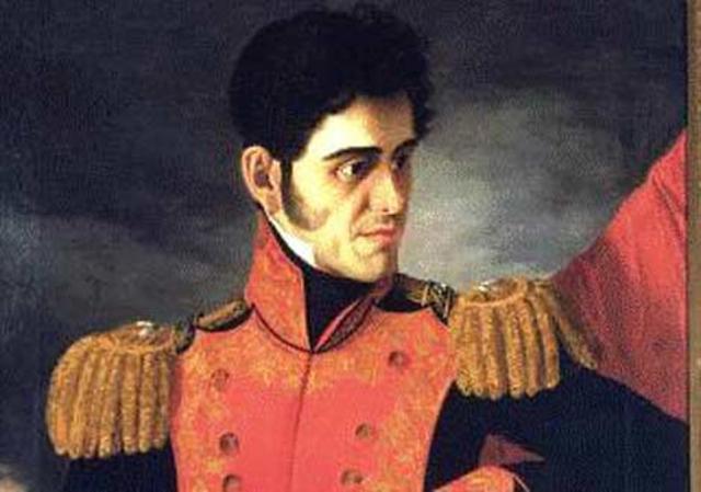 Santa Anna ocupa la presidencia por primera vez