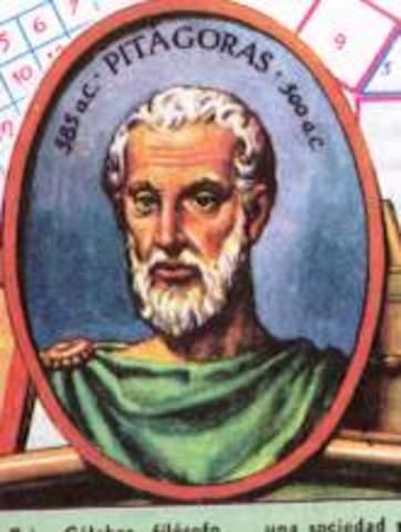 Pitágoras de Samos (582-500 a.C.)