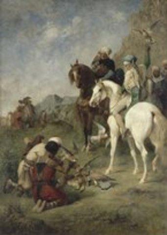 Francia conquista Argelia e inicia la penetracion en Africa