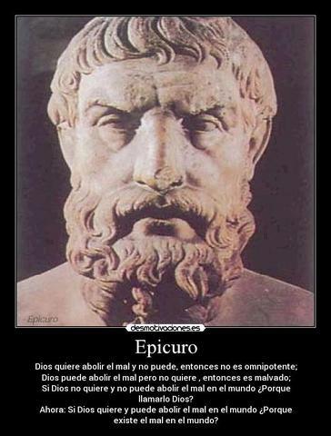 Epicuro (341-270 a.C.)