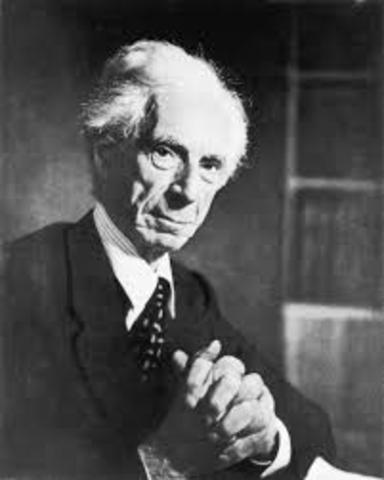 Rusell, Bertrand (1872 -1970)