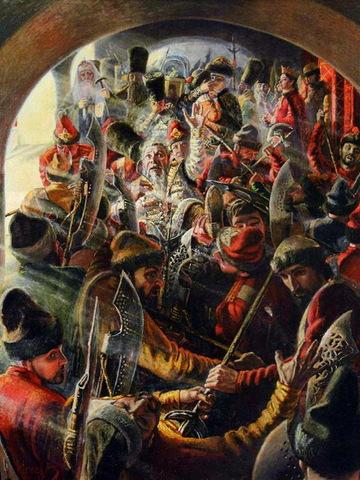 Второй Стрелецкий бунт
