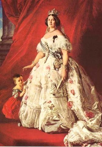 En Espana, 1 revolucion acaba con el reinado de Isabel II