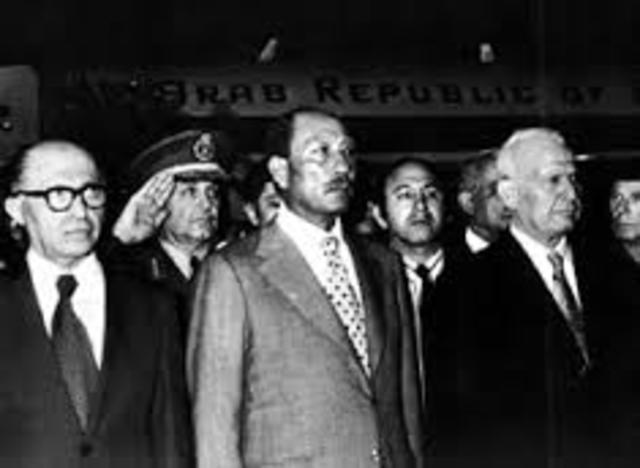 Sadat comes to Jerusalem