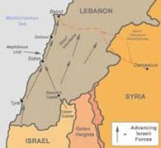 Lebanon invasion
