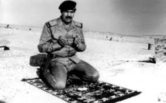 Saddam Refuses to Withdraw from Kuwait