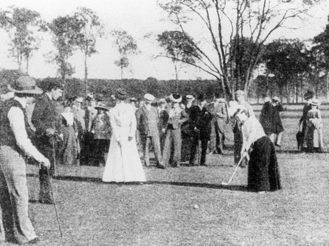 Golf is first played at the Paris Olympic Games
