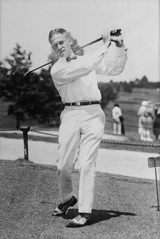 Bobby Jones completed the Grand Slam of The Open, the Amateur Championship, The US Open and the US Amateur Championship in one season.