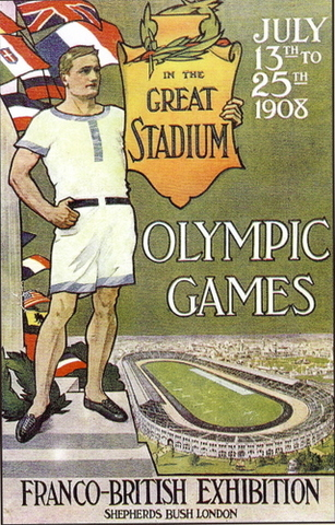 Golf is taken out of the 1908 Olympics