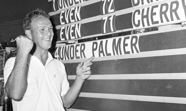 Legend Arnold Palmer wins a total of 8 tour events in 1960