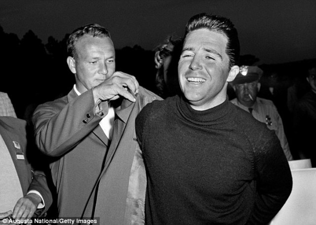 Gary Player beats Arnold Palmer on the last hole to become the first international player to win the Masters