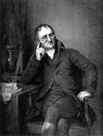 John Dalton turns Democritus's ideas into a scientific theory