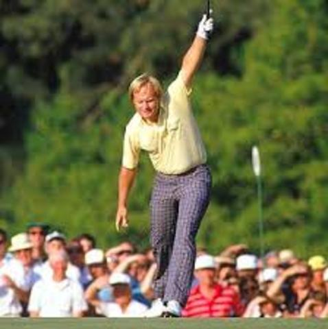 Jack Nicklaus, at the age of 46, shoots a final-round 65 at The Masters to win his 18th professional major championship, and 20th in all
