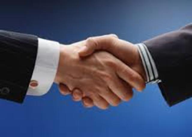 Conclusión de negociaciones sobre servicios de telecomunicaciones básicas.