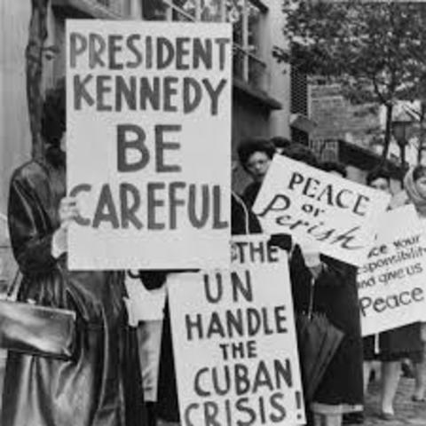 Khrushchev refuses to remove the missiles from Cuba