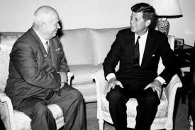 President Kennedy gives a  to the nation