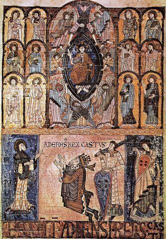 Alfonso II se convierte en el rey de Asturias