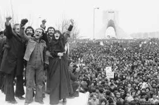 Celebration in Iran