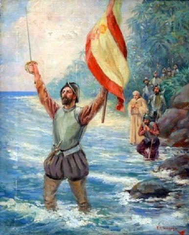 Balboa Crosses the Isthmus of Panama