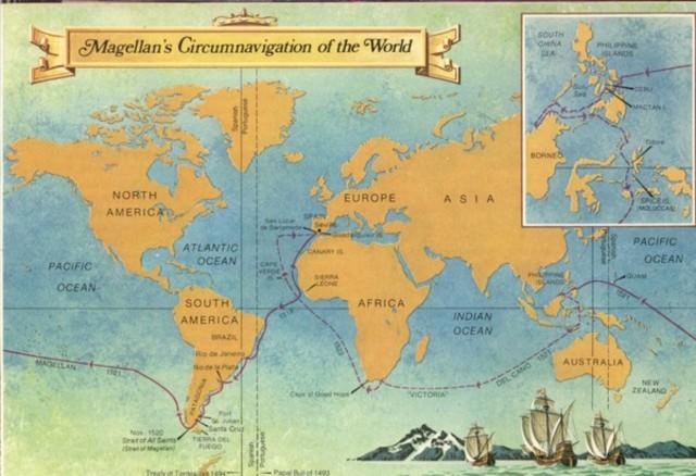 Ferdinand Magellan Circumnavigates the Globe