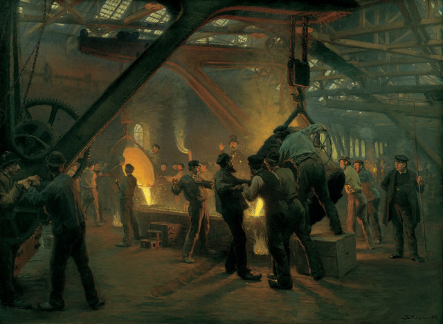 Det moderne gennembrud - P.S. Krøyer fra Burmeister & Wains jernstøberi